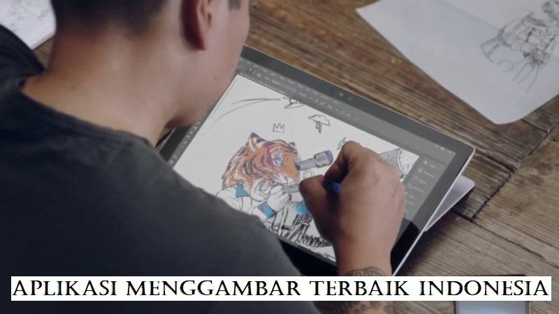 Aplikasi Menggambar Terbaik Indonesia