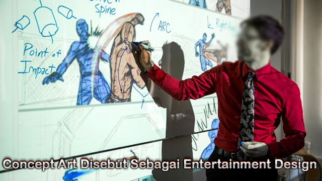 Concept Art Disebut Sebagai Entertainment Design