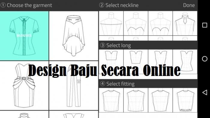 Design Baju Secara Online